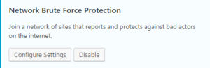 protection brut force wp